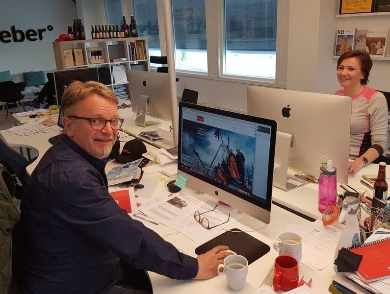 Feber Design i Tromsø.